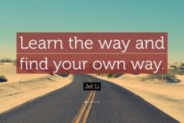 ကိုယ်ပိုင်လမ်းကြောင်းကို ရွေးချယ်ပါ